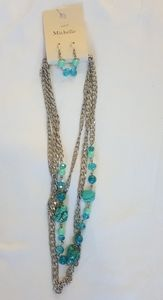 Michelle Necklace Jewelry Set